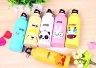 China Animal Pattern Cute Water Bottles , 500ml Customize Lovely Sports Bottle factory