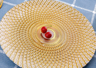 China Pineapple Pattern Orange Color Glass Fruit Plate / Plating Plate Use On Bar factory